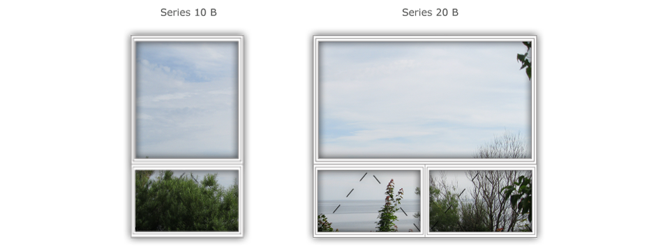 LCN Windows - 10 B & 20 B Series